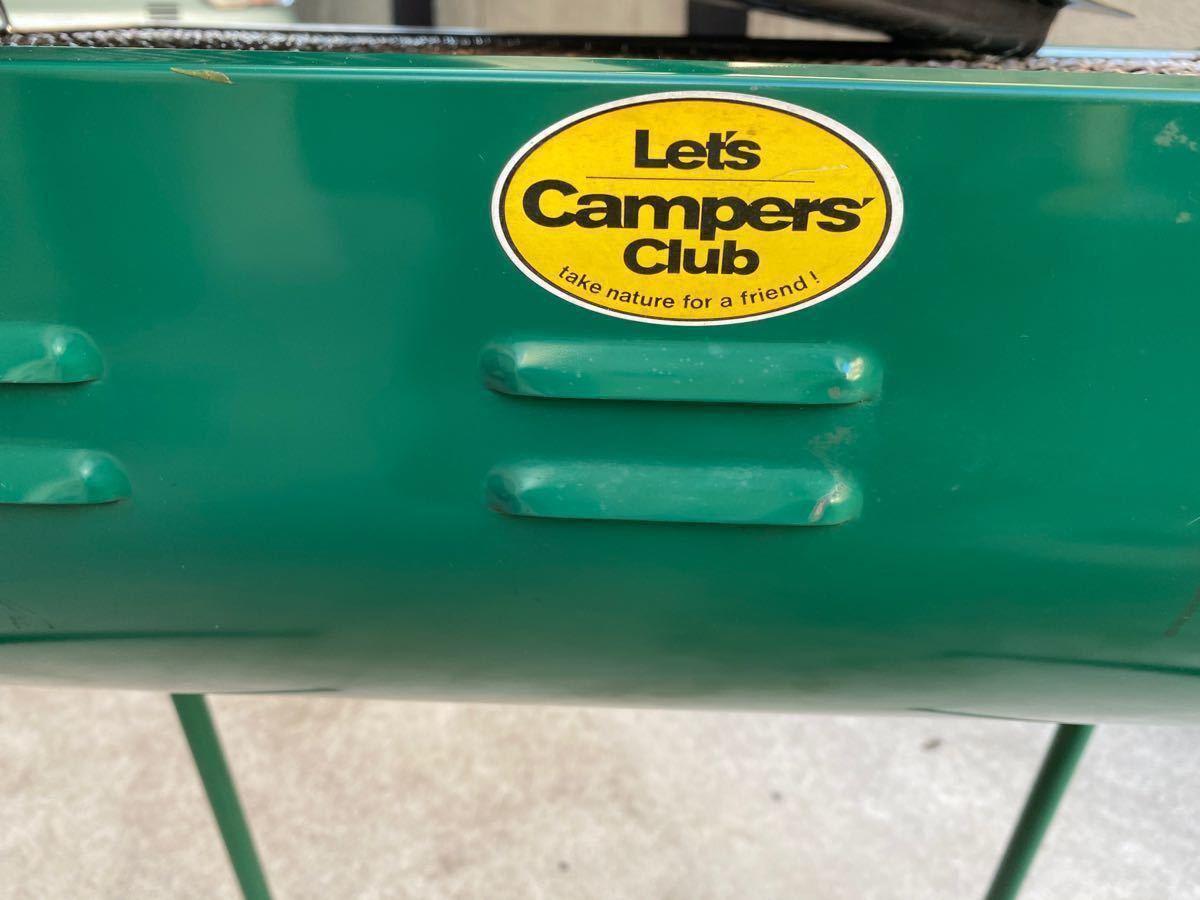 Let's Camper's Club バーベキューグリル 網1枚 鉄板1枚