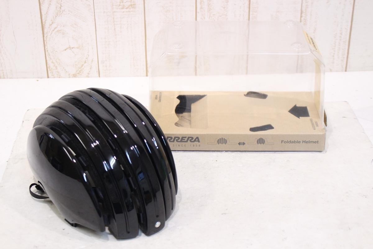★CARRERA カレラ FOLDABLE BASIC ヘルメット S-Mサイズ 美品_画像1
