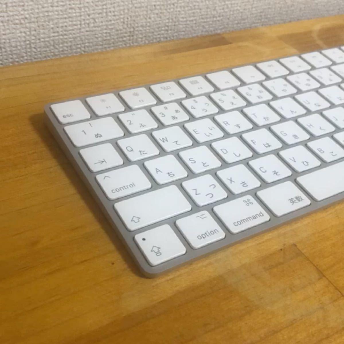 【美品/動作OK/送料無料】Apple Wireless Magic Keyboard 2 日本語配列 マジックキーボード