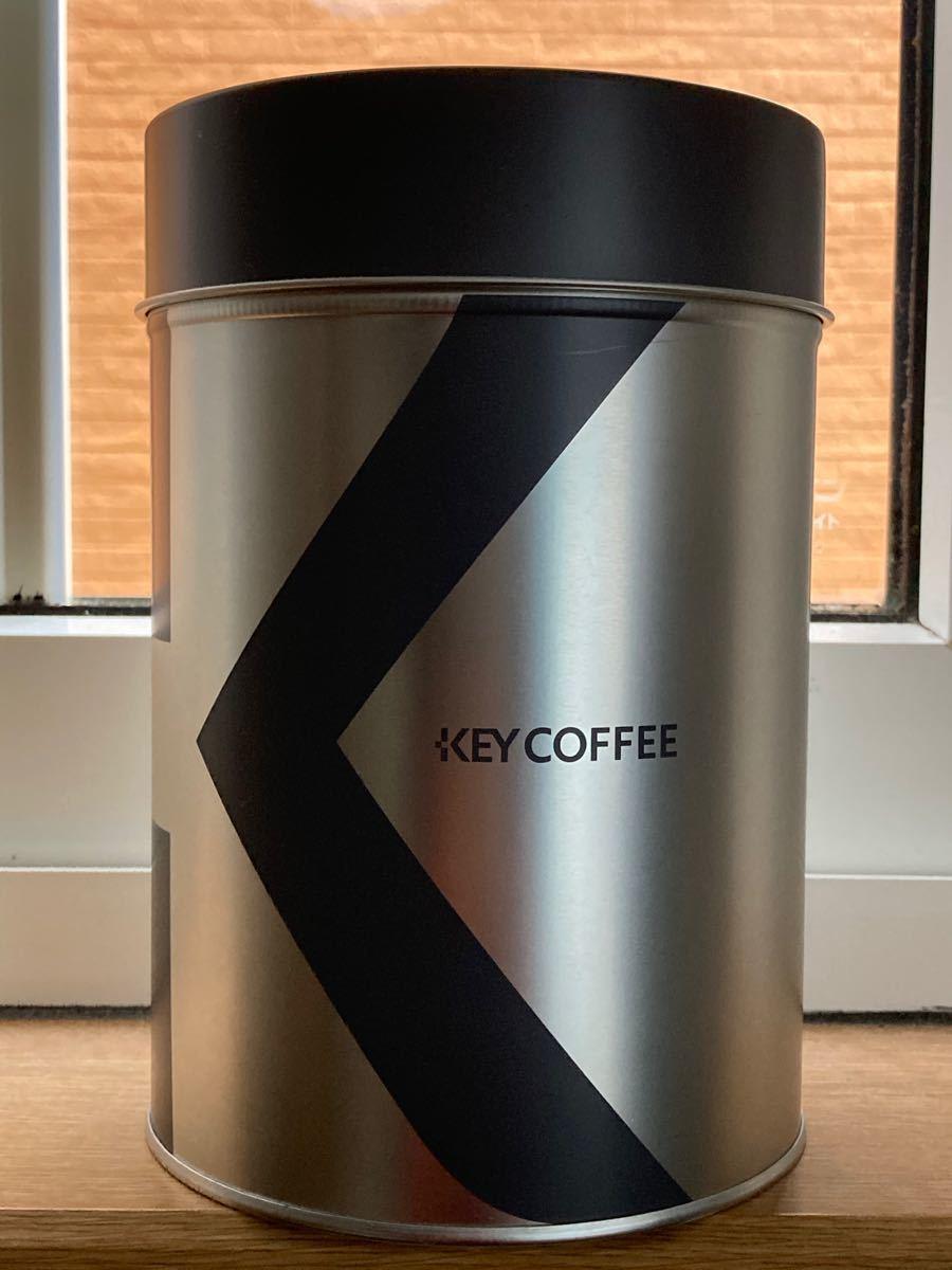コーヒー豆保管 コーヒー缶 キーコーヒー KEY COFFEE