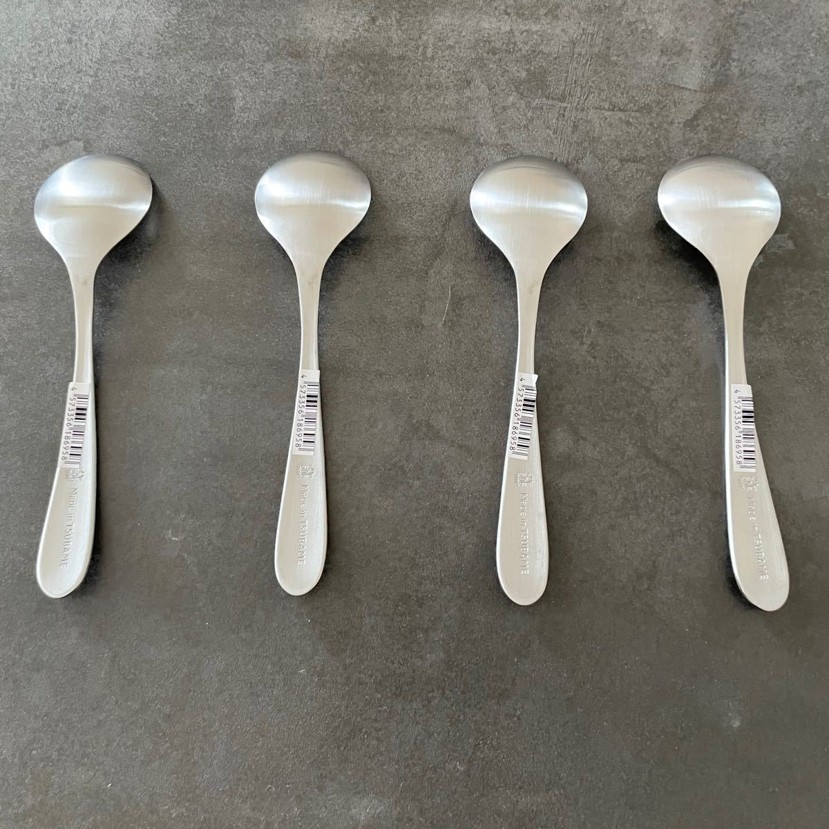 ツバメカトラリー 4本セット スープスプーン小 新品未使用 made in tsubame 燕