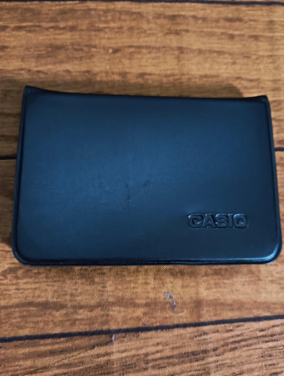 CASIO 電卓 電話 登録機能付き データバンク  DATA BANK 100