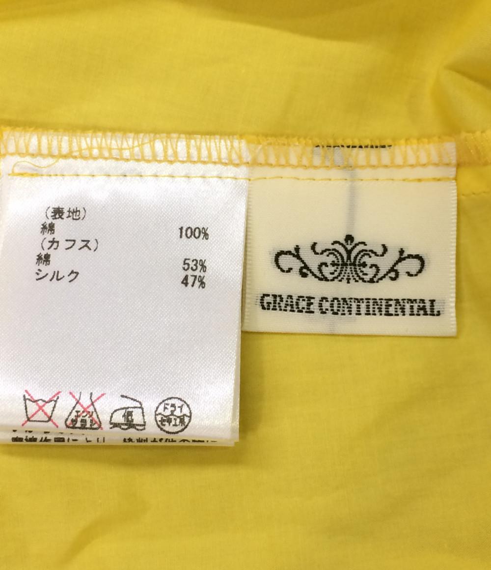 美品 グレースコンチネンタル デザインスリーブ 長袖ブラウス レディース SIZE 38 (S) GRACE CONTINENTAL_画像3
