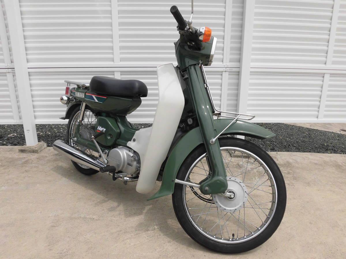 「メイトV50 程度抜群 美車 新品タイヤ  走行3804キロ 2サイクル ヤマハ MATE V50、愛知県豊川市」の画像2