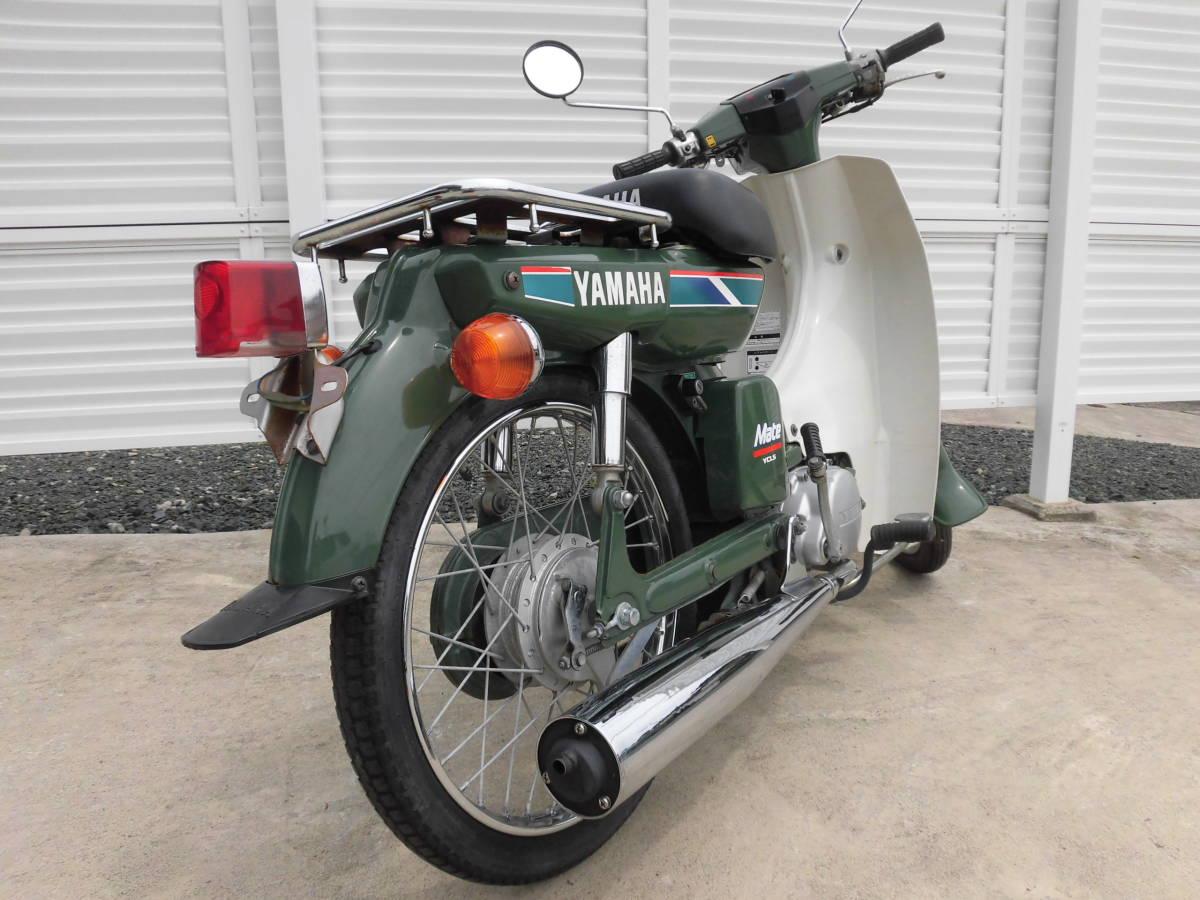 「メイトV50 程度抜群 美車 新品タイヤ  走行3804キロ 2サイクル ヤマハ MATE V50、愛知県豊川市」の画像3