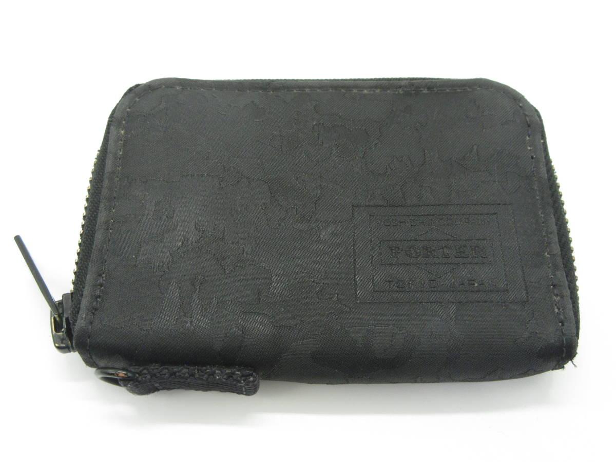ヘッドポーター コインケース ブラック 中古品 M5-2A_画像1