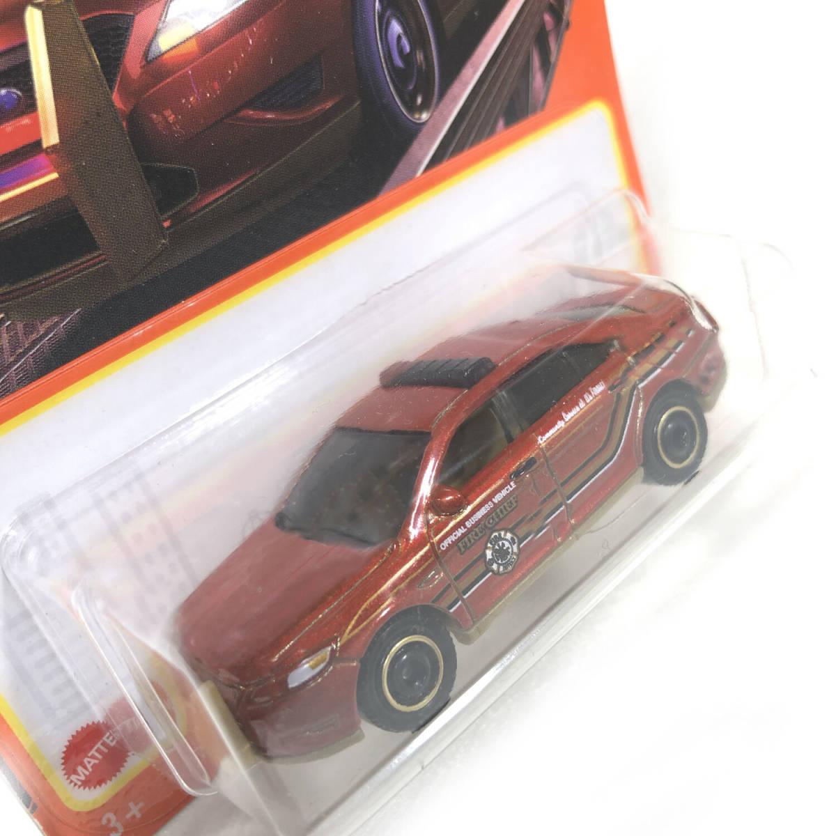 マッチボックス 2021 フォード ポリス インターセプター レッド Matchbox ベーシックカー_画像3