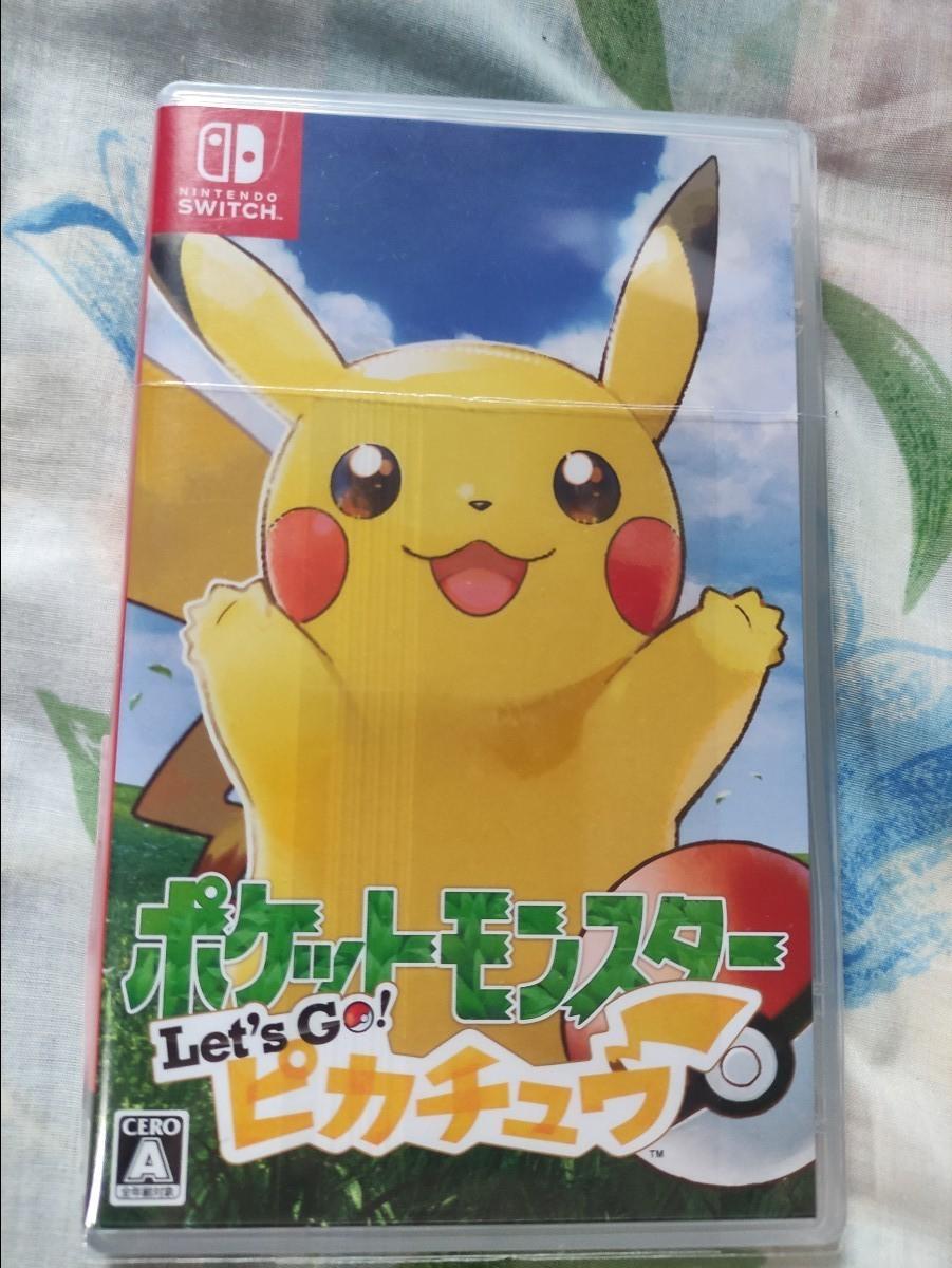 let's go  ポケットモンスター ピカチュウ Switch Pokemon ポケモン