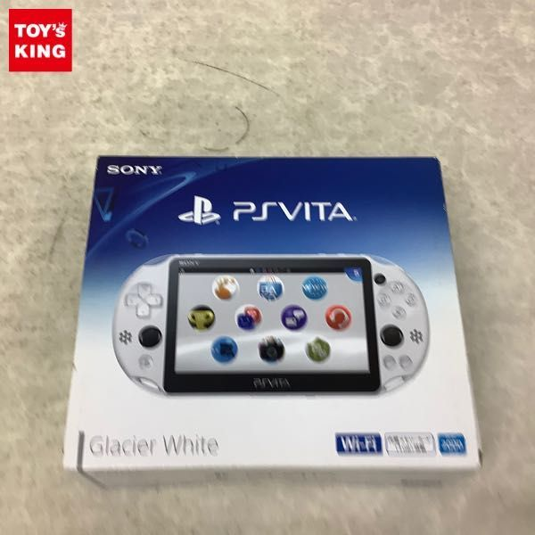 1円~ 動確済/初期化済 PS VITA PCH-2000 ZA22 グレイシャー・ホワイト 本体
