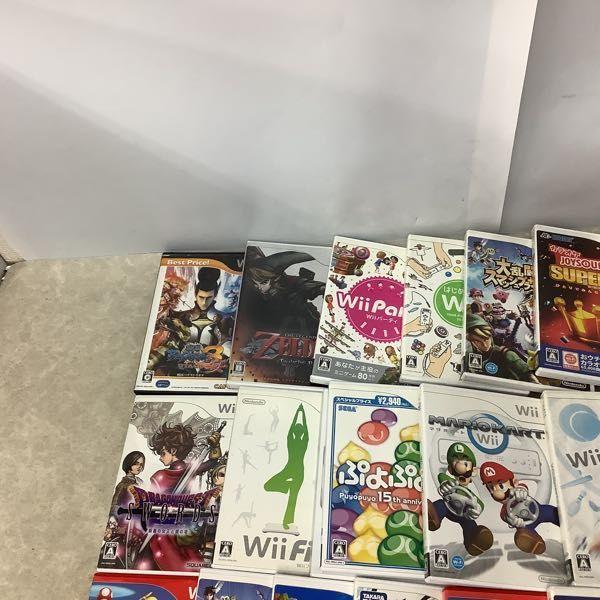 1円~ 訳あり Wiiソフト 星のカービィWii、マリオカートWii、式神の城III、大乱闘スマッシュブラザーズX他_画像4