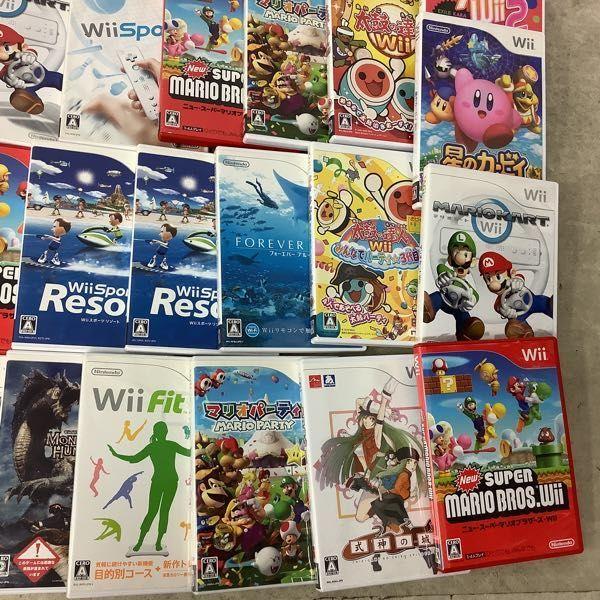1円~ 訳あり Wiiソフト 星のカービィWii、マリオカートWii、式神の城III、大乱闘スマッシュブラザーズX他_画像2