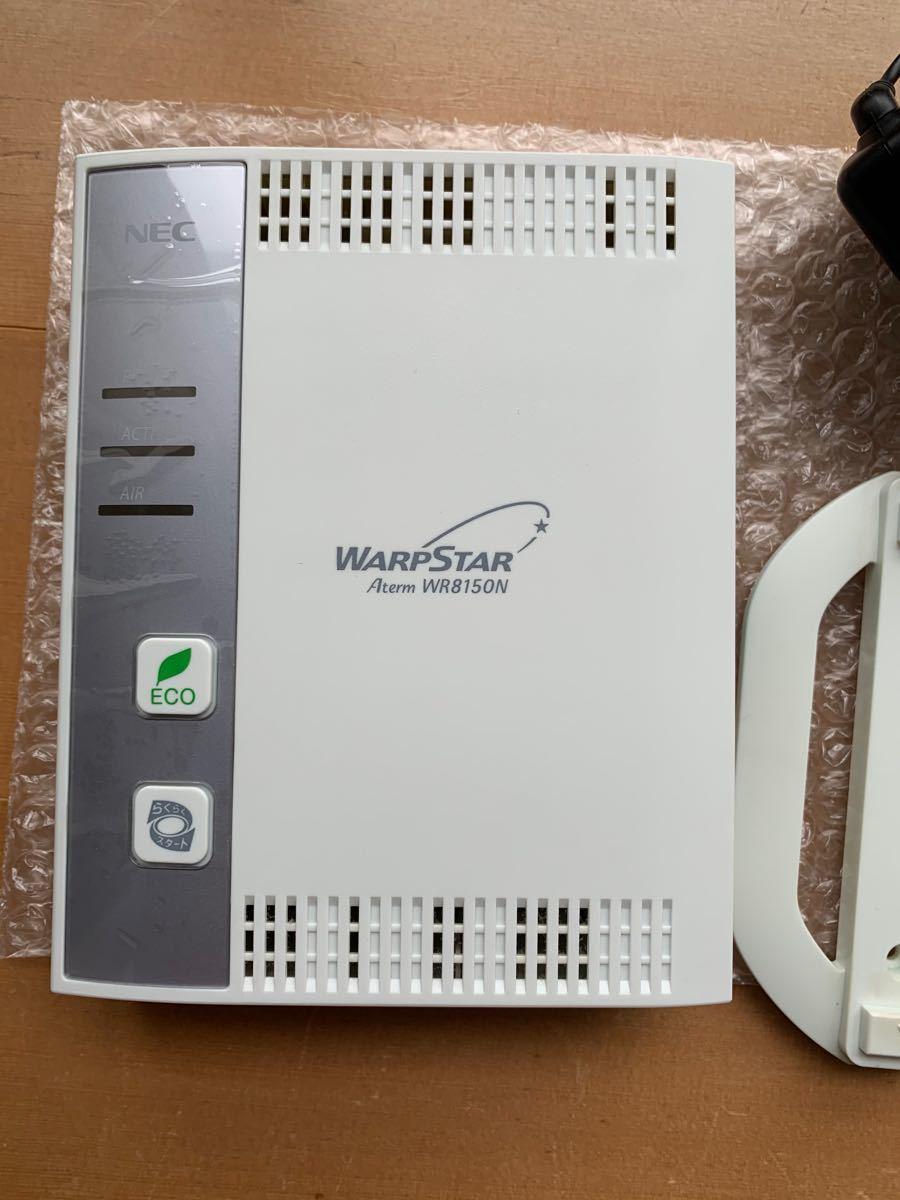 無線LANルータ 他セット NEC WARPSTAR Aterm WR8150N Aterm WL54AG WL54GU