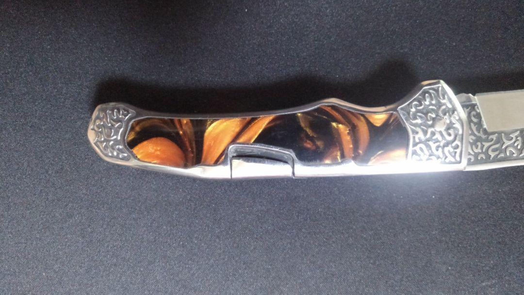 アウトドア COLUMBIA KNIFE 折りたたみナイフ A3154 Jade