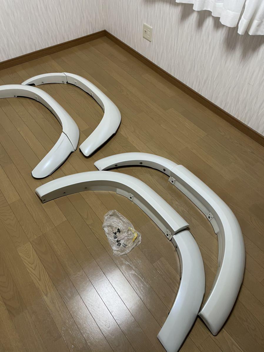 100系 ランクル 60ミリオーバーフェンダー シグナス HDJ 北海道道東から 180サイズ