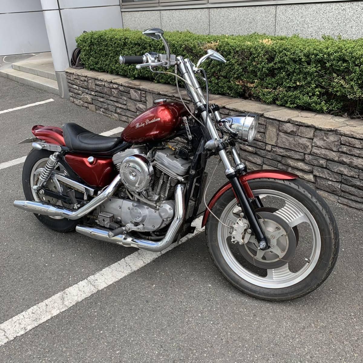 「奈良県 ハーレーダビッドソン スポーツスター 883 1200 フルカスタム」の画像1