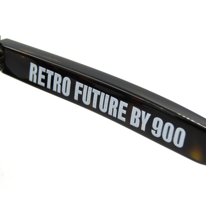 ¥1~ 未使用 FACTORY900 RETRO ファクトリー900 レトロ サングラス RF-001 RETRO FUTURE BY 900 クラウンパント 172/Demi 50012515