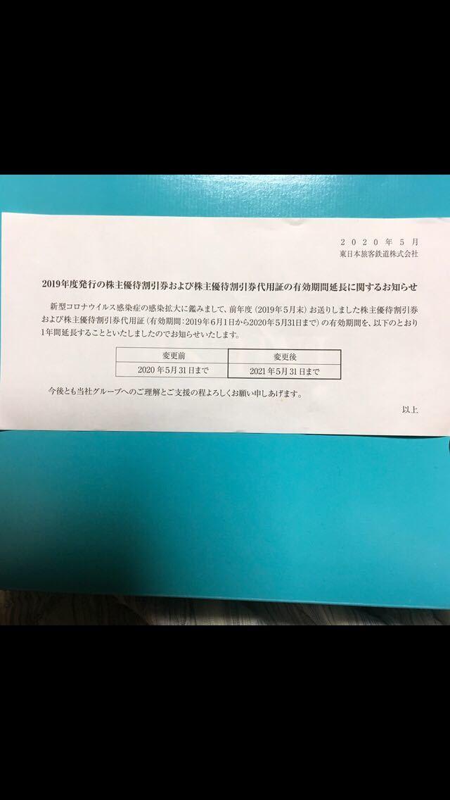 JR東日本 株主優待 割引券 _画像3