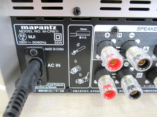 marantz/マランツ☆ ネットワークCDレシーバー システムコンポーネント M-CR611 2018年製 札幌_画像3