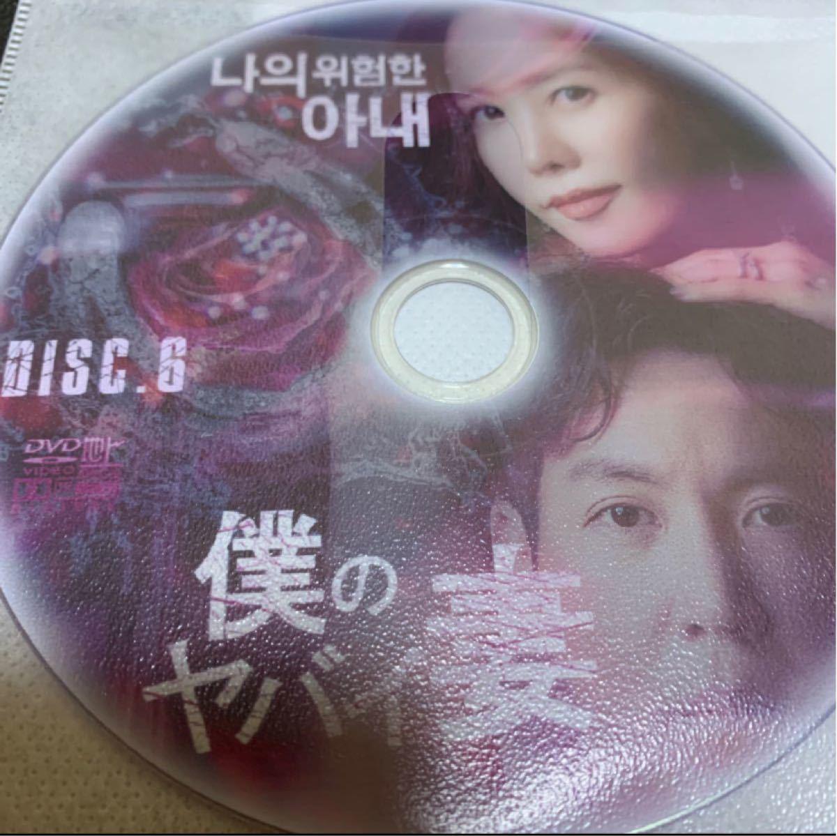 韓国ドラマ 僕のヤバイ妻 DVD全話【レーベル印刷あり】