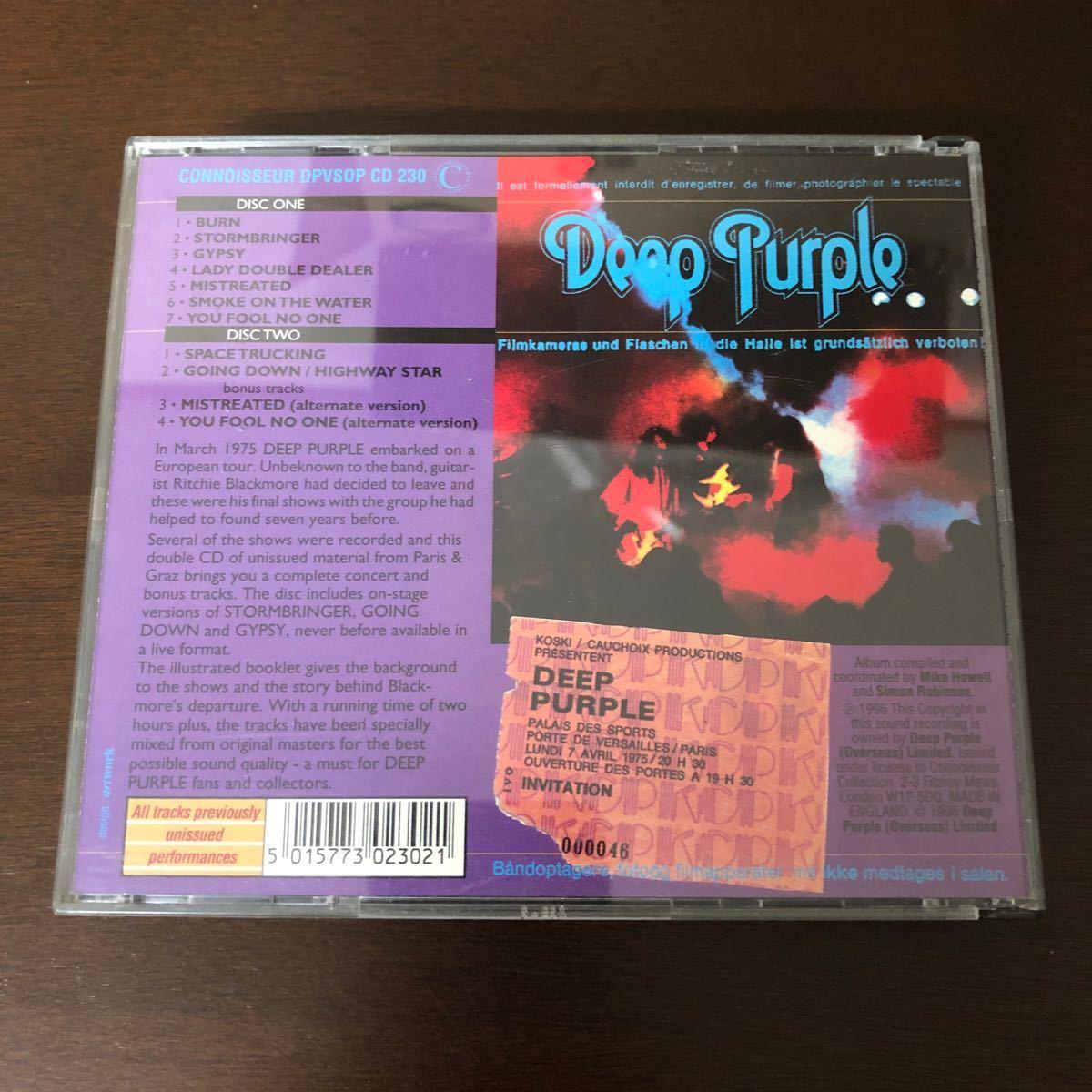 ディープパープル DEEP PURPLE MK 3 THE FINAL CONCERTS
