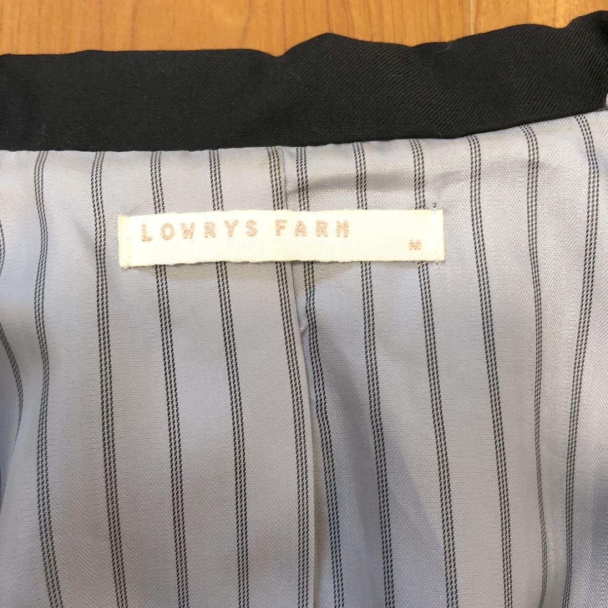 テーラードジャケット 黒 M  ローリーズファーム