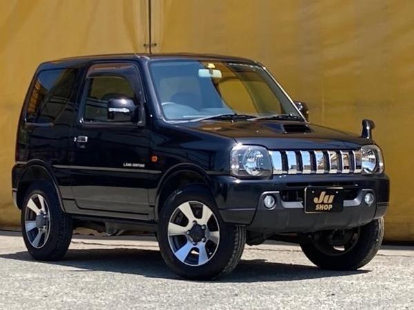「ジムニー 660 ランドベンチャー 4WD ワンオーナー車 社外ナビ 背面ハードカバー」の画像1