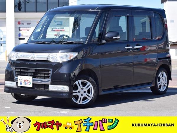 「タント 660 カスタム X 4WD 夏冬タイヤ付プラン ナビテレビ付 Sキー」の画像1