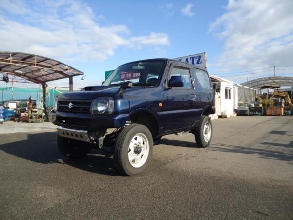 「ジムニー 660 XG 4WD HDDナビ/DVD再生/地デジTV新品リフトUP車」の画像1