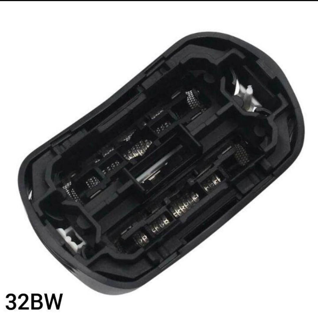 2個ブラウン BRAUN 替刃 互換品 シリーズ3/32BW 網刃 一体型