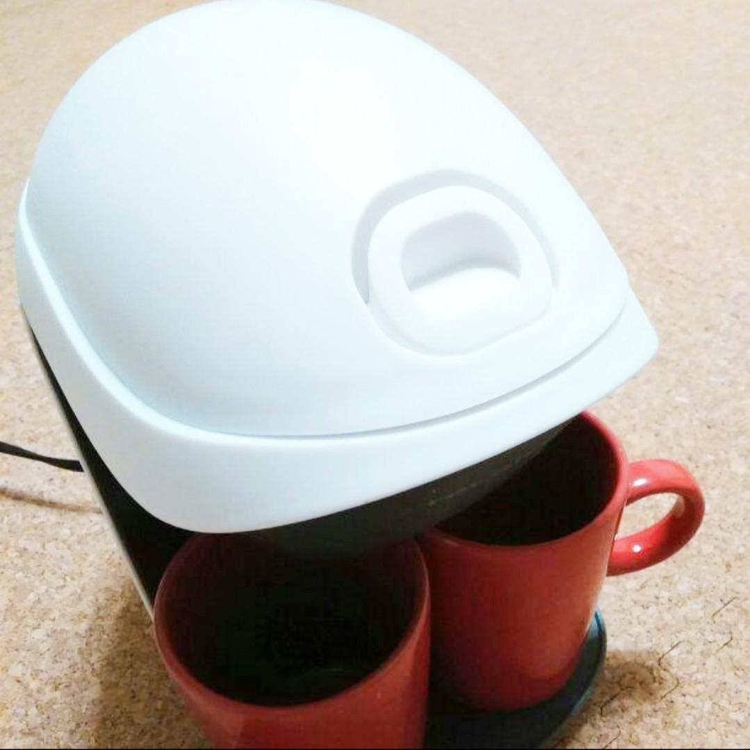 コーヒードリッパー マグカップ二個付 レコルトグランカフェデュオ