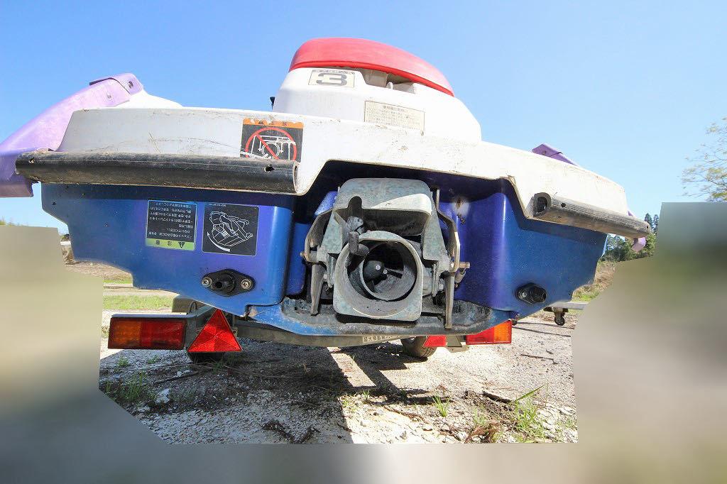「ヤマハ ジェットスキー MJ700TL(3人乗) トレーラー/船台付属」の画像3