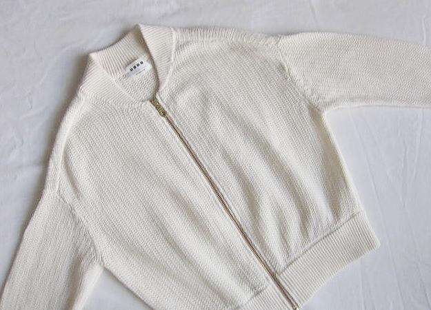 ◆プラステ  PLST 美品 リネン サマーニット ジャケット 羽織_画像3