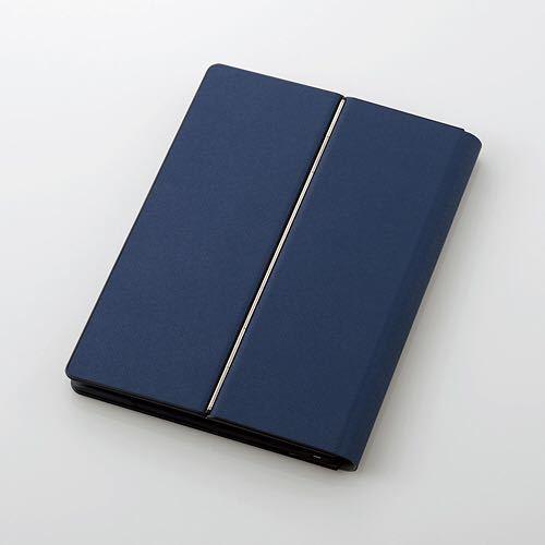 エレコム ELECOM TK-CAP02BU [Bluetoothキーボード ケース一体型 無段階角度調整 マルチペアリング対応 汎用 ブルー] 未使用品《送料無料》