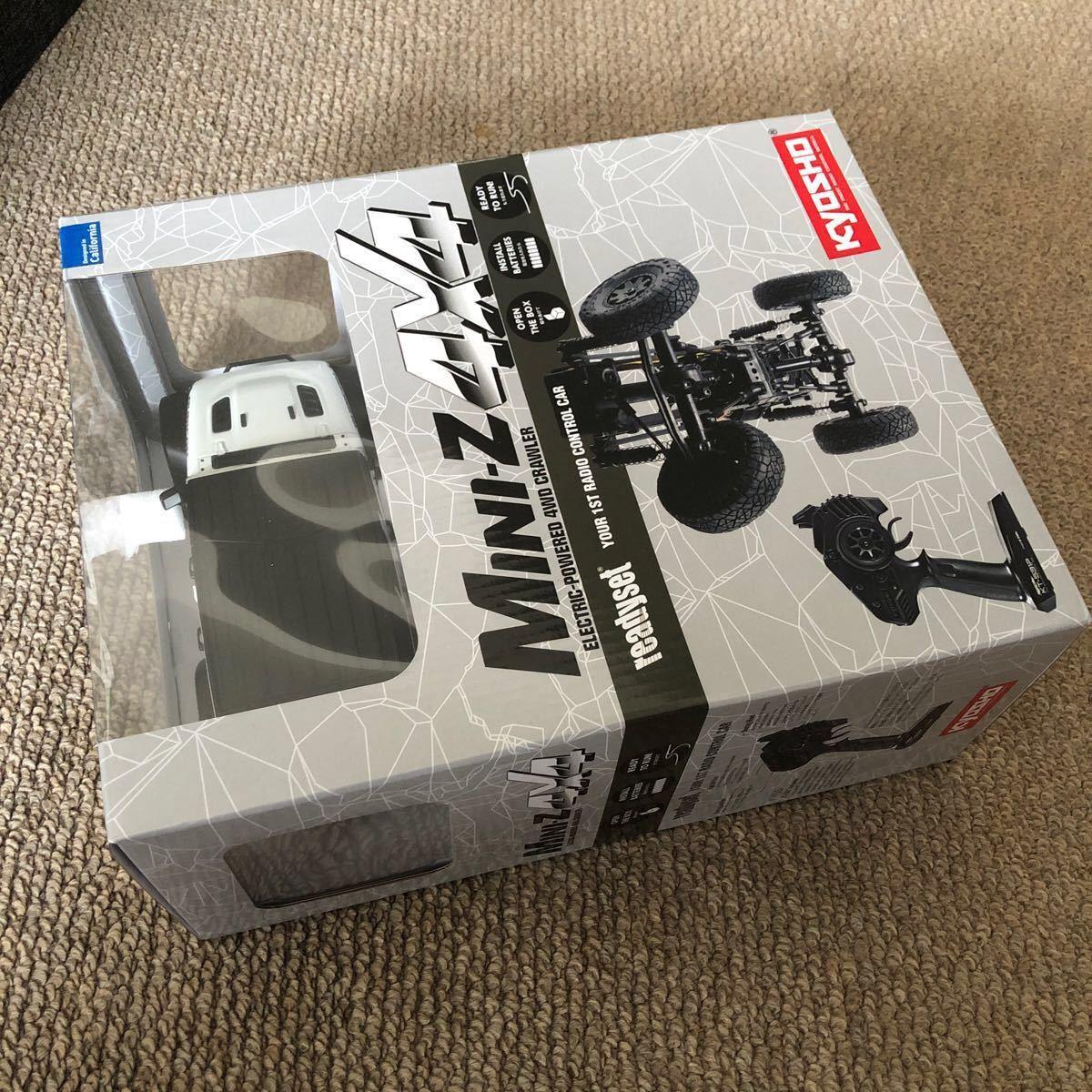 京商 RC ミニッツ4×4シリーズ レディセット ジープ ラングラー アンリミテッド ルビコン ブライトホワイト 32521W