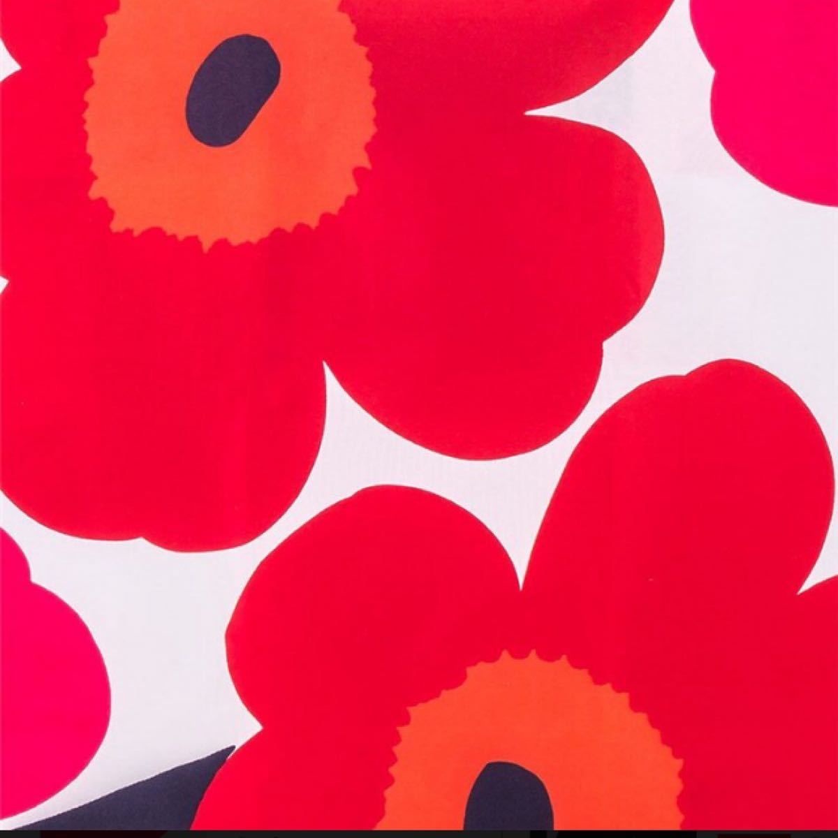 【未開封品】色違い2点セット Marimekko マリメッコ エコバッグ スマートバッグ 買い物バッグ  北欧 トートバッグ