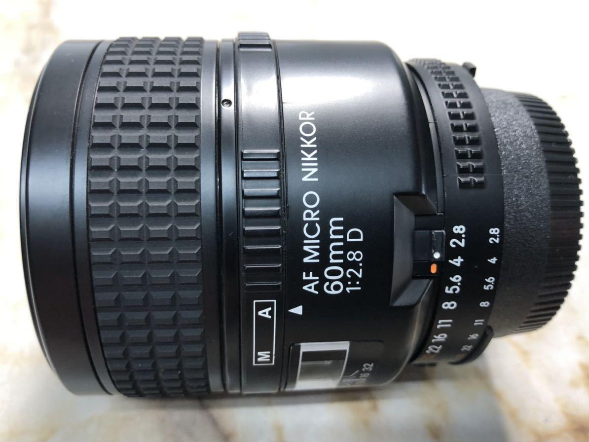 Nikon AF MICRO NIKKOR 60mm 1:2.8D 外観美品 カビあり