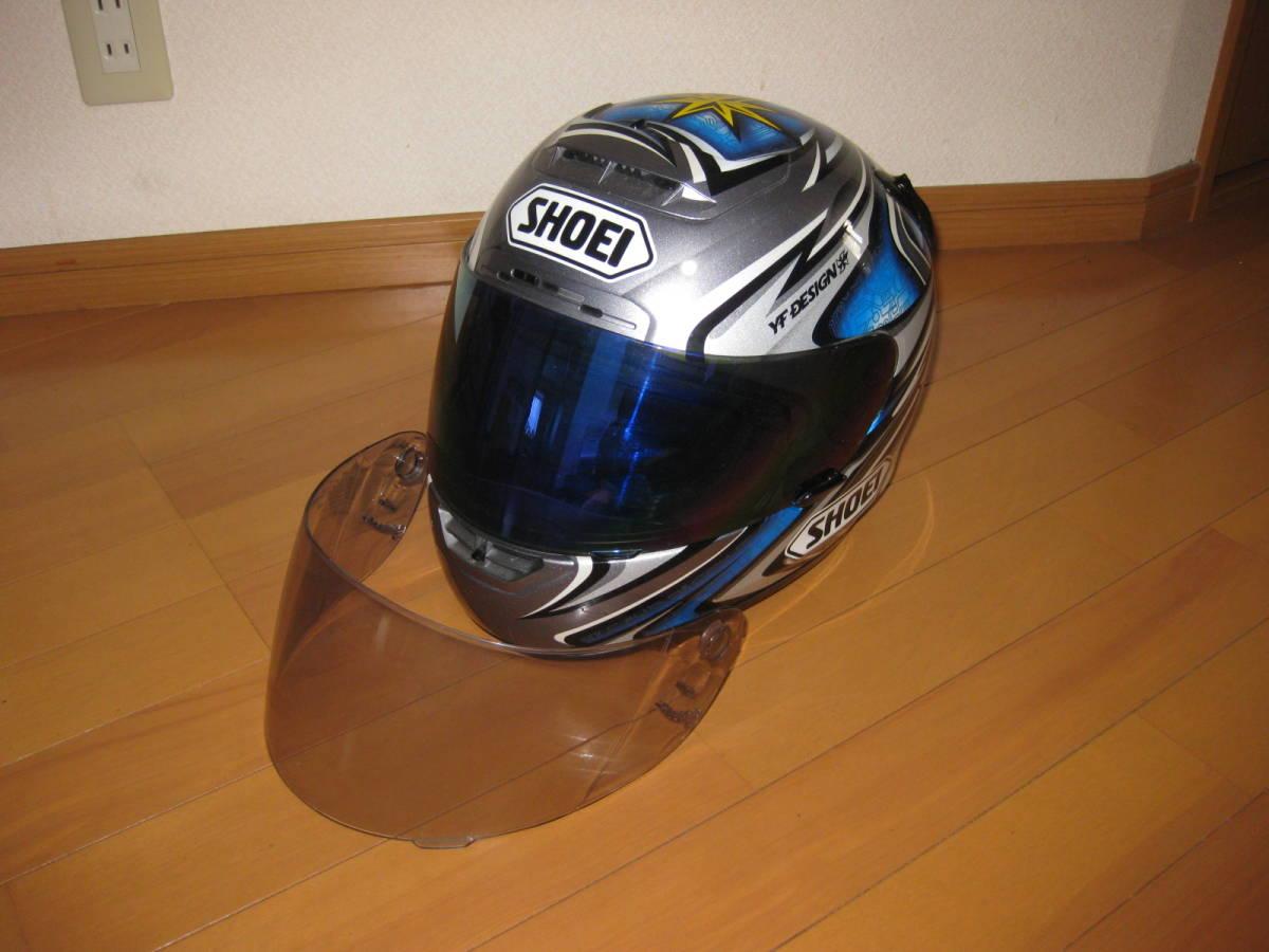 SHOEI ショウエイ 加藤大治郎 レプリカ フルフェイス ヘルメット Daijiro 74 X-Eleven Lサイズ _画像1