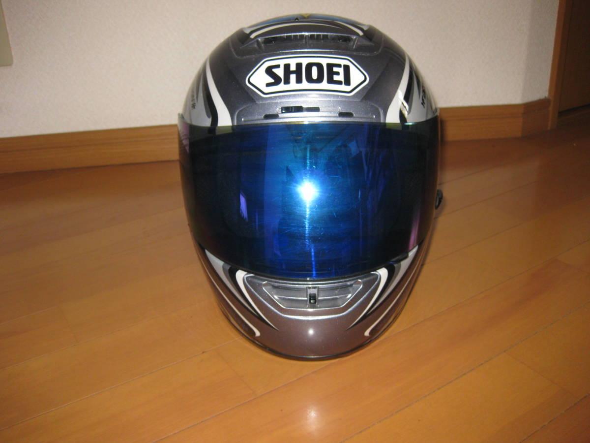 SHOEI ショウエイ 加藤大治郎 レプリカ フルフェイス ヘルメット Daijiro 74 X-Eleven Lサイズ _画像2