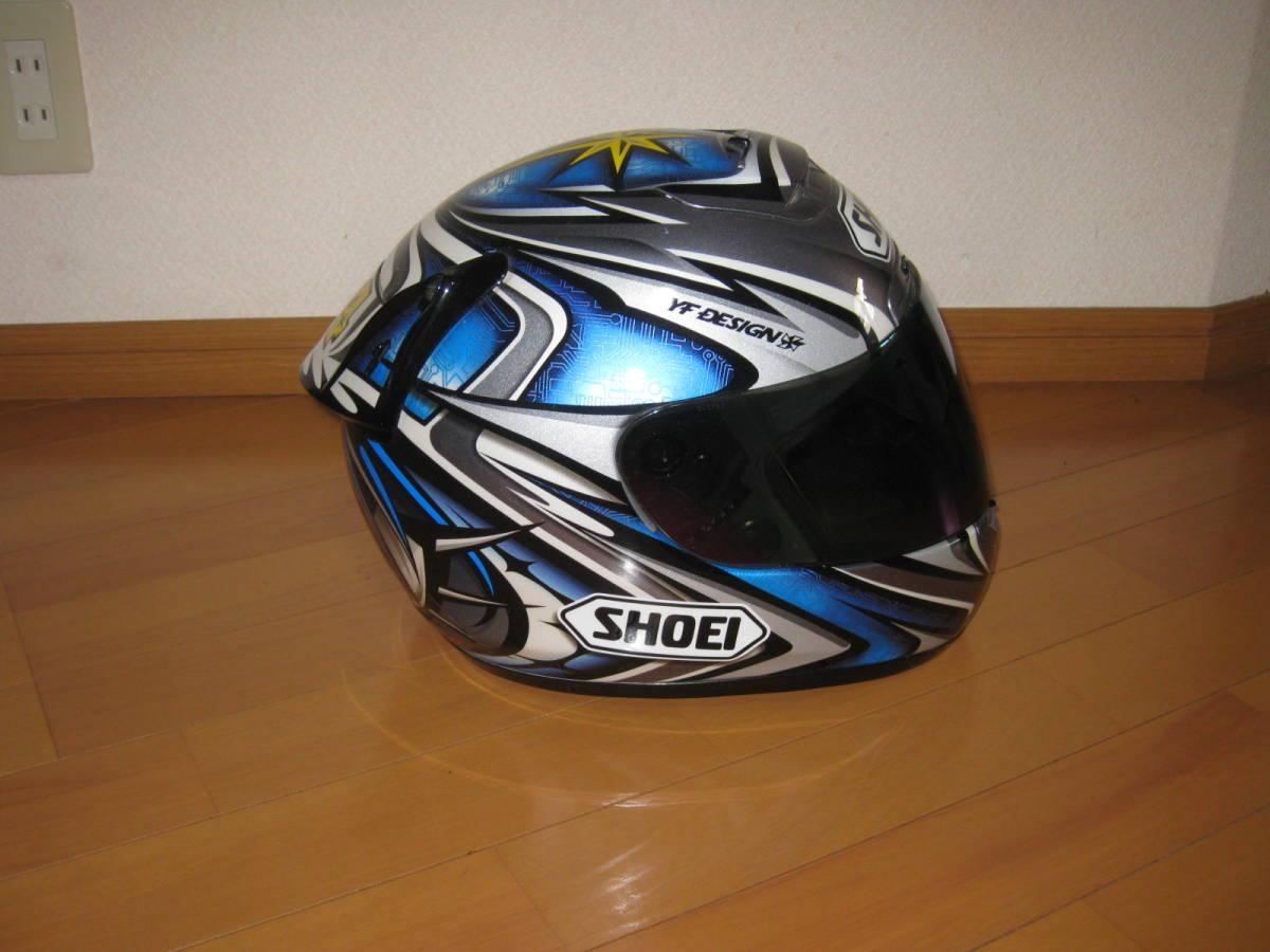 SHOEI ショウエイ 加藤大治郎 レプリカ フルフェイス ヘルメット Daijiro 74 X-Eleven Lサイズ _画像5
