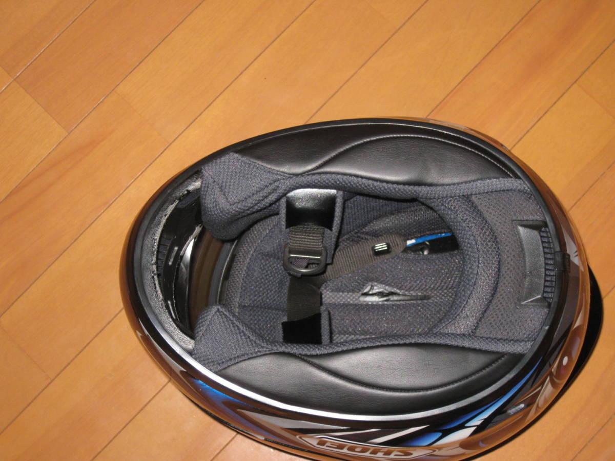 SHOEI ショウエイ 加藤大治郎 レプリカ フルフェイス ヘルメット Daijiro 74 X-Eleven Lサイズ _画像8