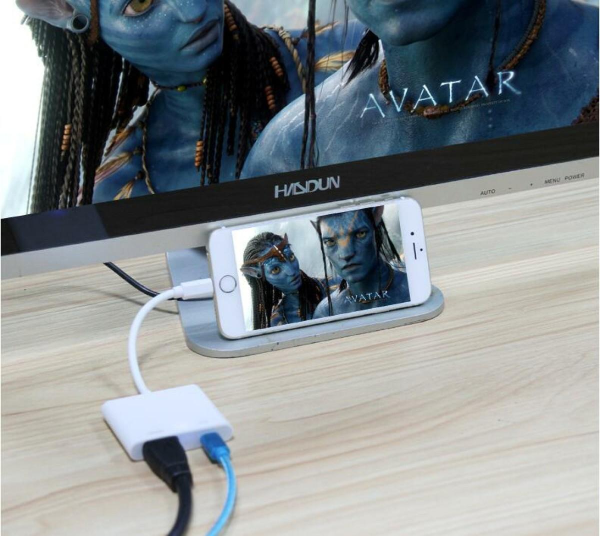 HDMI iPhone 変換ケーブル アダプタ テレビ HDMIケーブルセット