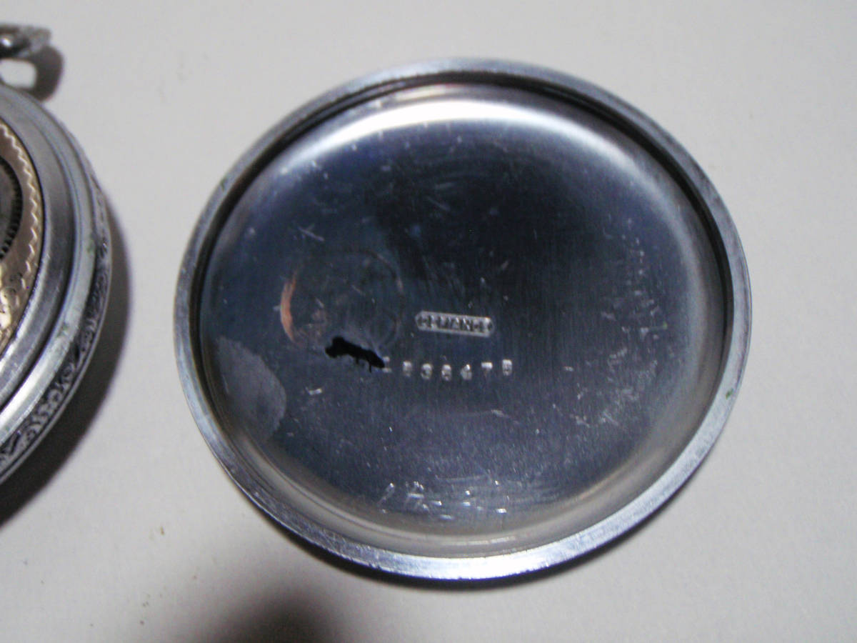 ELGIN 希少モデル モンゴメリーダイヤル懐中時計  鉄道時計 錫製ケース? _画像7