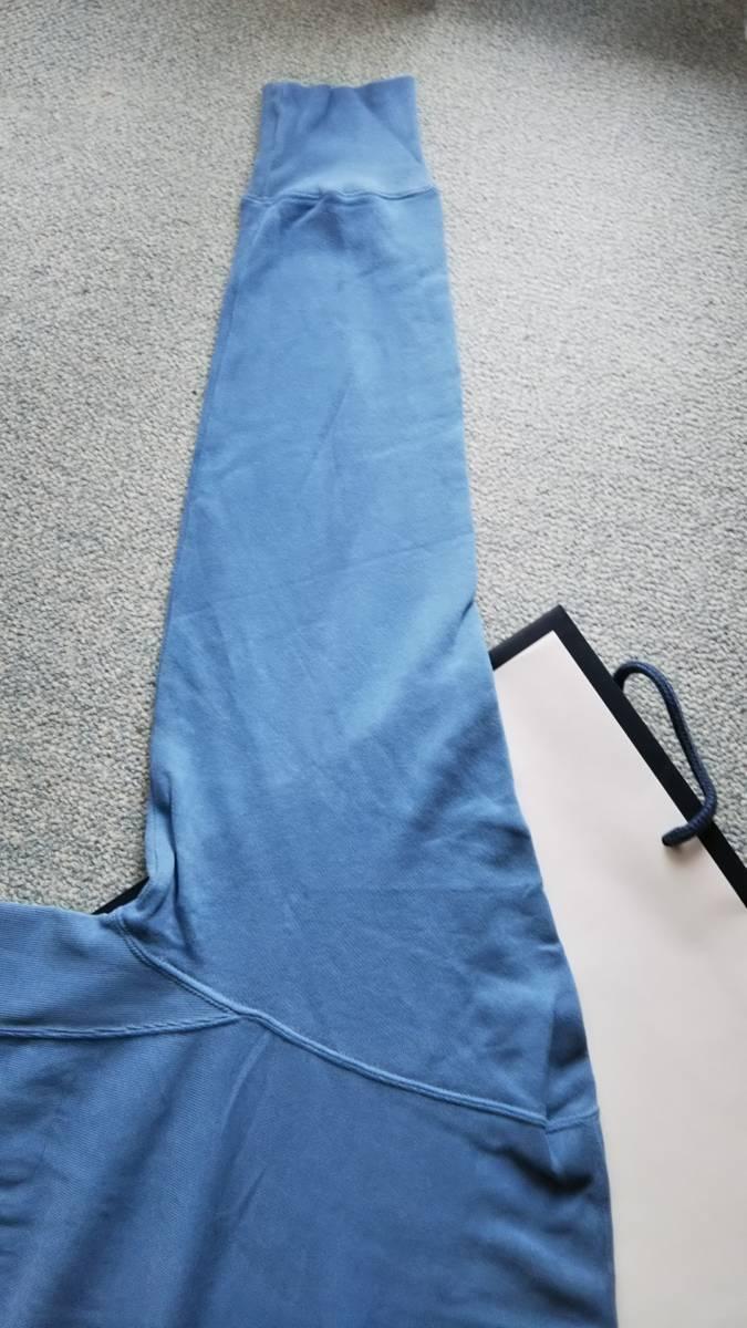 春物 ロンハーマン ヴィンテージウォッシュ加工 オーバーサイズ スウェット シャツ トレーナー プルオーバー ブルー _画像5