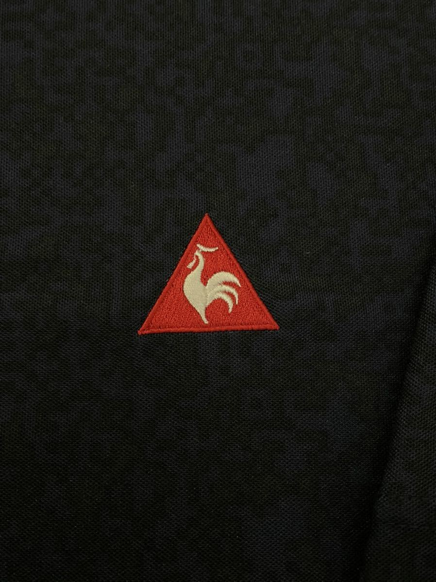 ルコック le coq sportif ルコックスポルティフ 【良品】 ゴルフウェアー メンズ Lサイズ 半袖 ドライポロシャツ_画像4