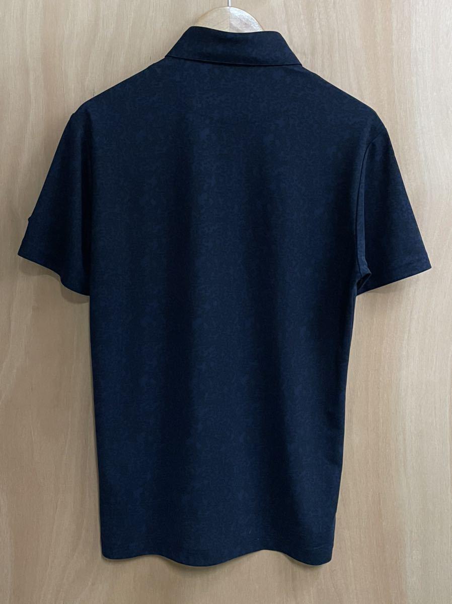 ルコック le coq sportif ルコックスポルティフ 【良品】 ゴルフウェアー メンズ Lサイズ 半袖 ドライポロシャツ_画像2