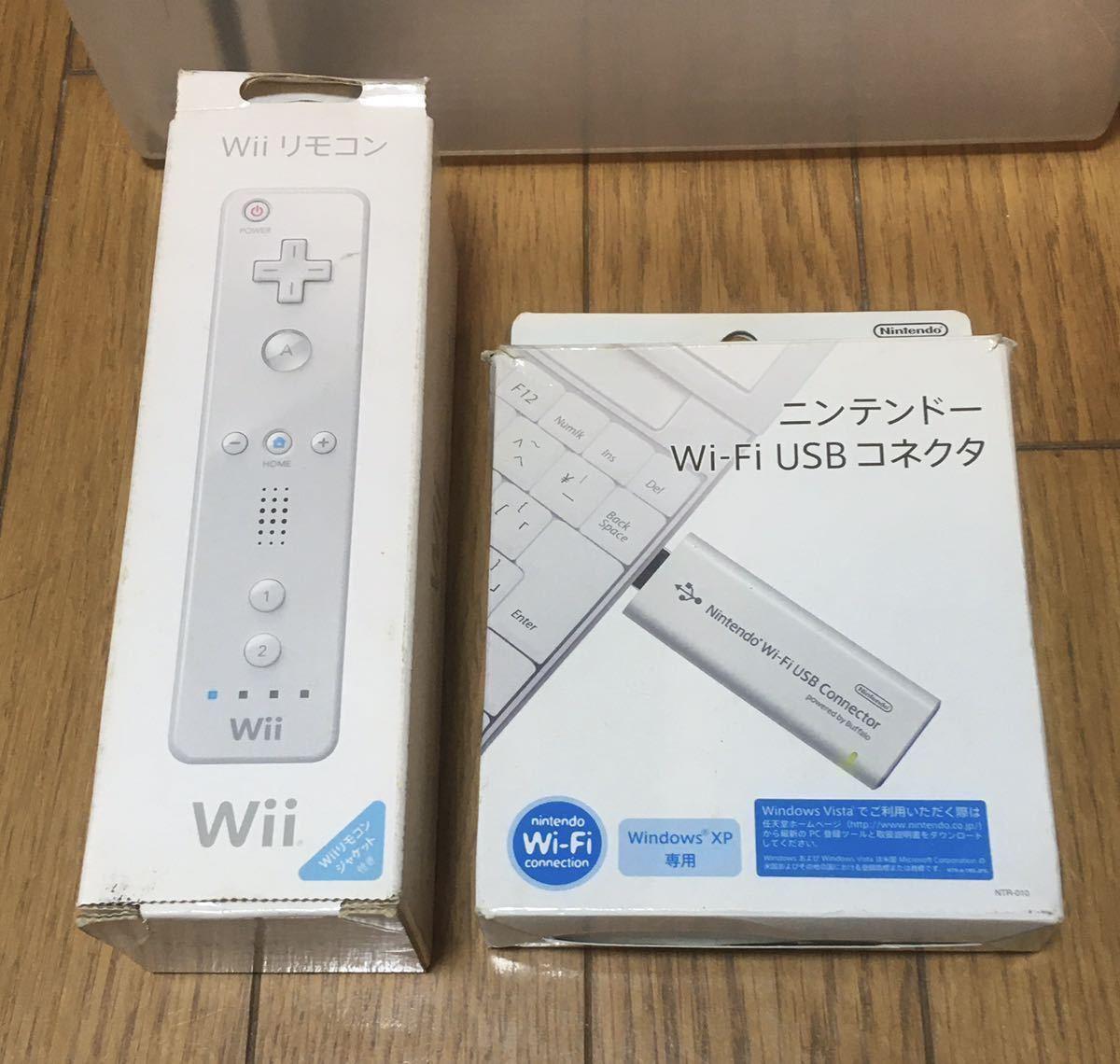 任天堂 Wii 本体 コントローラー ソフト ケーブル セット 中古 ジャンク品 / セガ namco ソニー PSP Switch GWのステイホームにゲーム!