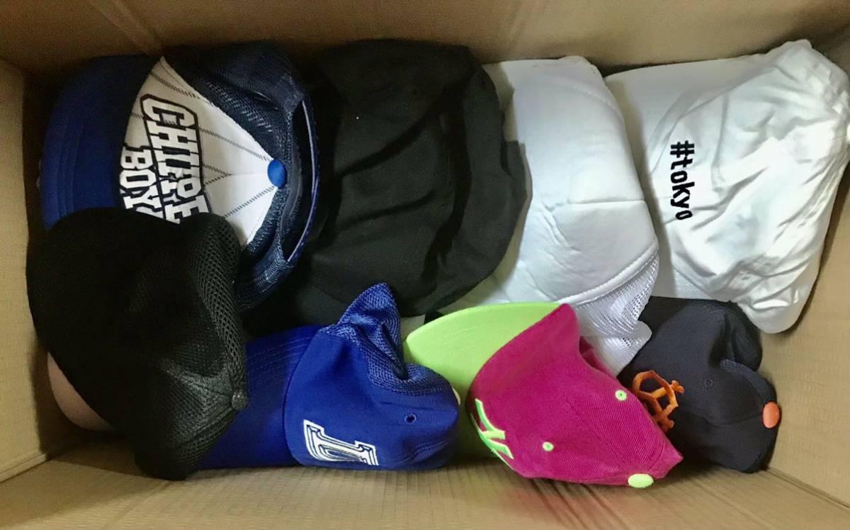 050602☆1円スタート 帽子 キャップ 大量まとめ hat men's lady's kids mix ストリートファッション スポーツ 男女 子供用 いろいろ_画像7