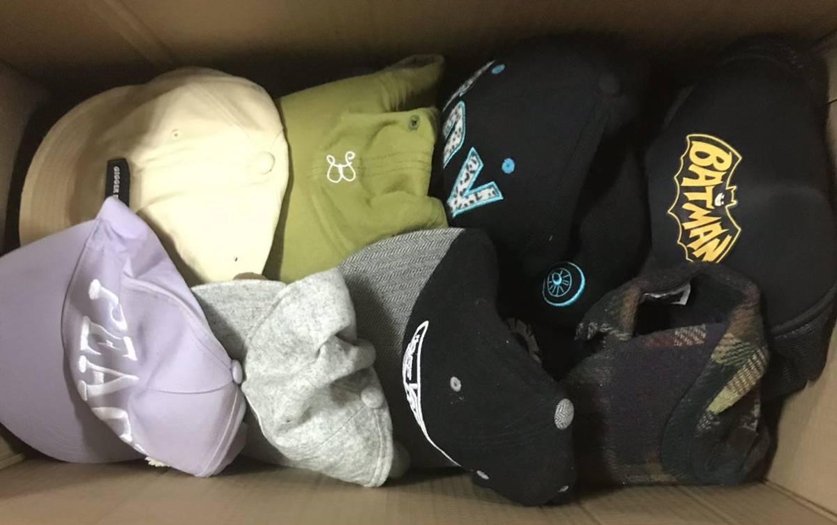 050602☆1円スタート 帽子 キャップ 大量まとめ hat men's lady's kids mix ストリートファッション スポーツ 男女 子供用 いろいろ_画像5