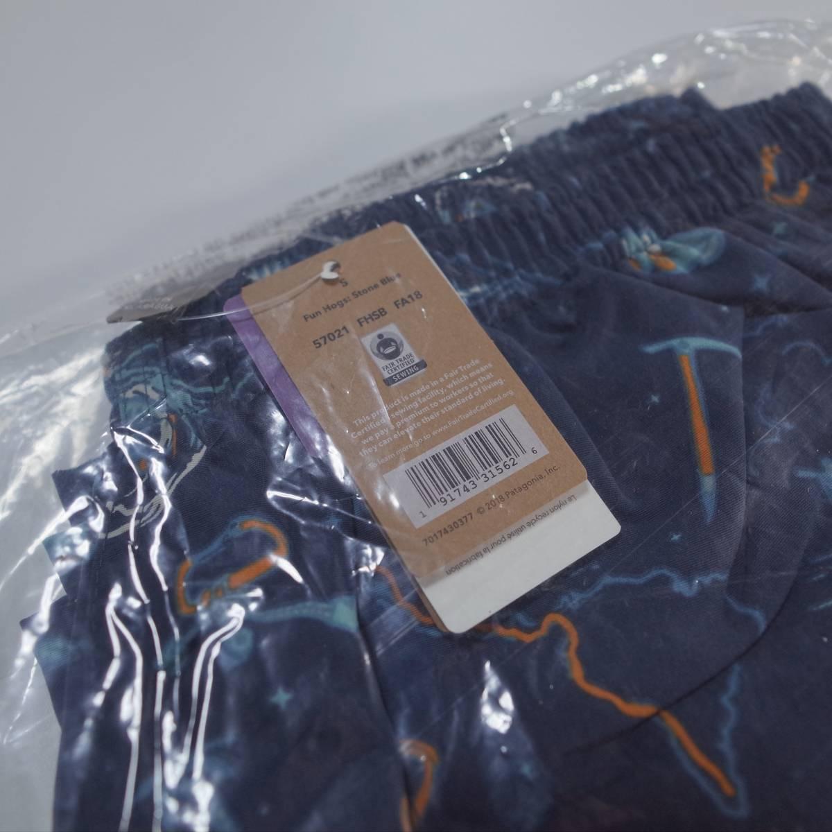 patagonia パタゴニア mens baggies shorts メンズ バギーズ ショーツ Fun Hogs: Stone Blue (FHSB) S 新品未使用 36周年限定柄 新カラー
