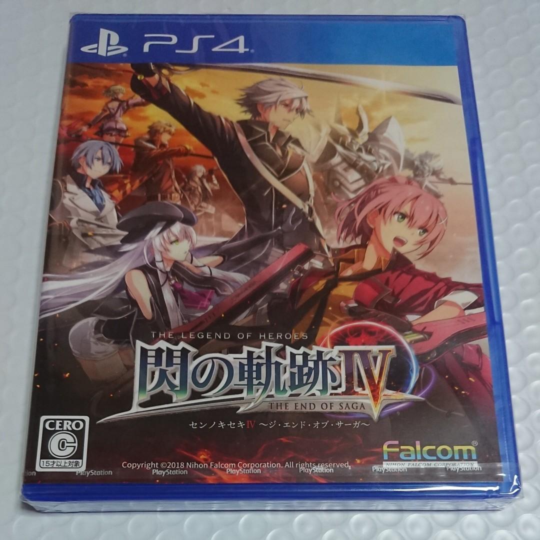 英雄伝説 閃の軌跡IV PS4